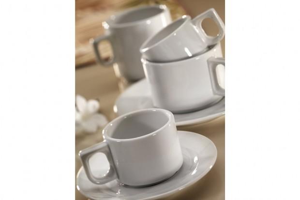 Комплект Чаша с чинийка за чай 250 ml PERA