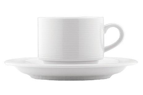 Комплект Чаша с чинийка за кафе 80 ml REY