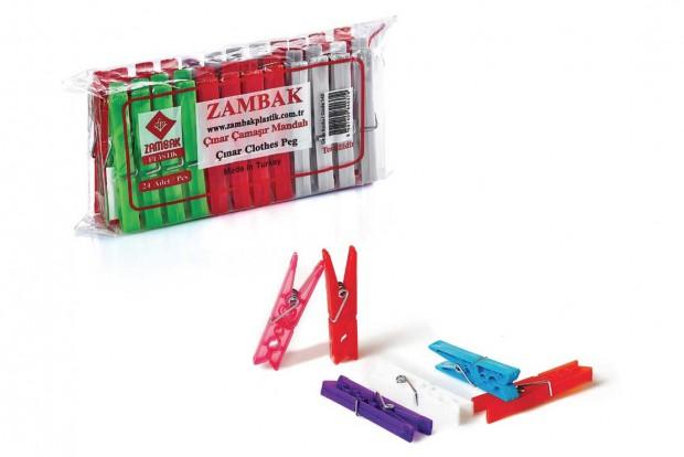 Щипки за пране 24бр. 142 ZAMBAK
