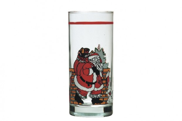 Чаша 260 ml Дядо Коледа/6бр 91206 D13  CLASSICO