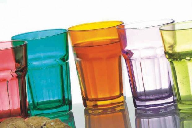 Чаша за вода 350 ml, цветна 51031CF74  MAROCCO