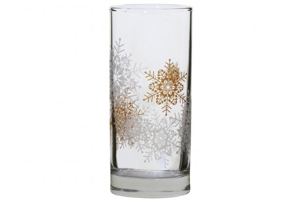 Чаша 260 ml Коледни снежинки/6бр 91206 D151  CLASSICO
