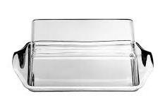 Кутия за съхранение на масло POLISTIROL+INOX 16x9.5 cm 00063 APS