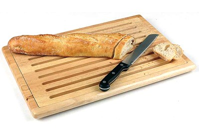 Дъска за рязане на хляб с улей 60x40 cm 957 APS