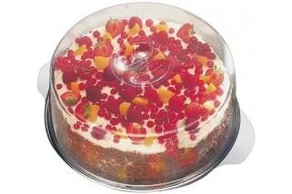 Поднос за торта с два капака ф.30 cm 00652 APS