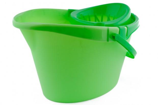 Кофа овал с цедка 12 l зелена 2цвята