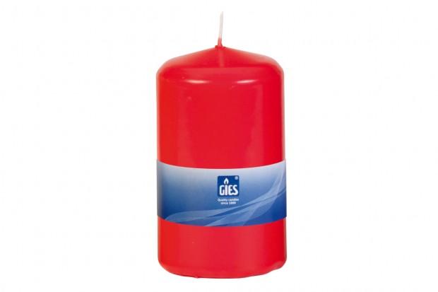 Свещ Цилиндър червена 120х80 mm 1бр.+/ 65h 205 256003 33