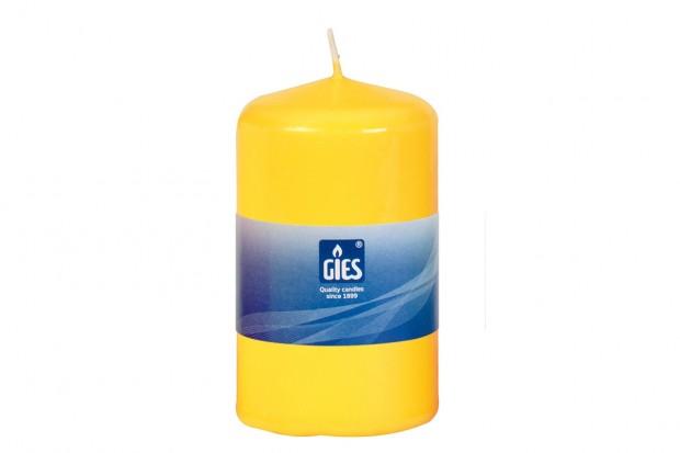 Свещ Цилиндър жълта 80х48 mm 1бр. 205 223010 17