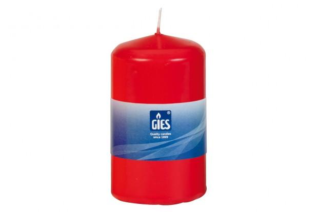 Свещ Цилиндър червена 100х58 mm 1бр.+/ 27h 205 235010 33