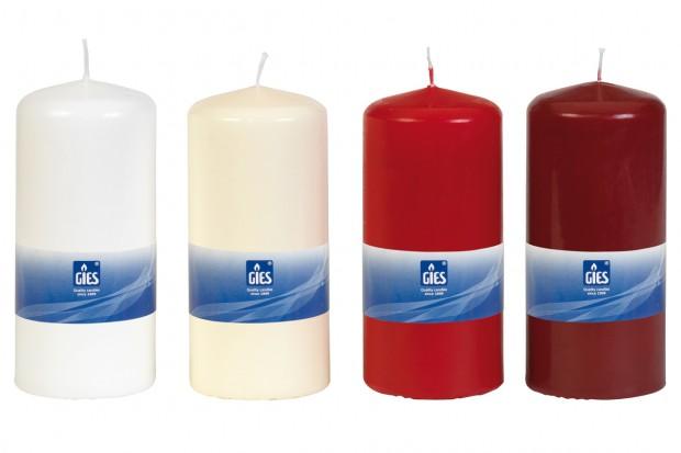 Свещ Цилиндър червена 150х68 mm 1бр.+/ 70h 205 247026 33