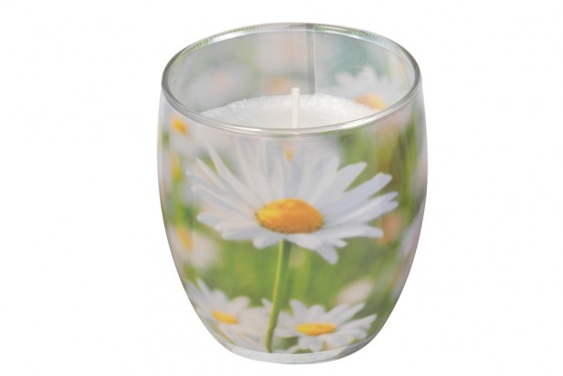 Чаша стеарин 80х70 mm  маргаритка +/ 25h 213 611154 11 DUFTI