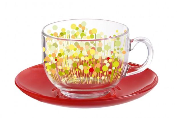 Сервиз за чай 220 ml 12 ел H2486 FLOWERFIELD RED