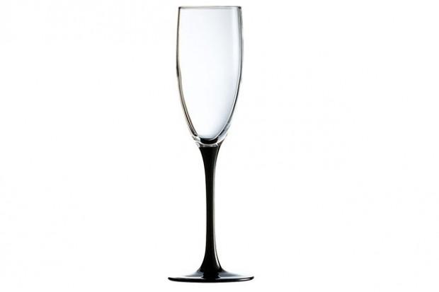Черна чаша 170 ml 4 бр E9491 DOMINO