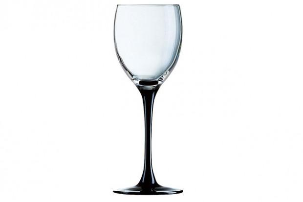 Черна чаша 190 ml 4 бр E5156 DOMINO