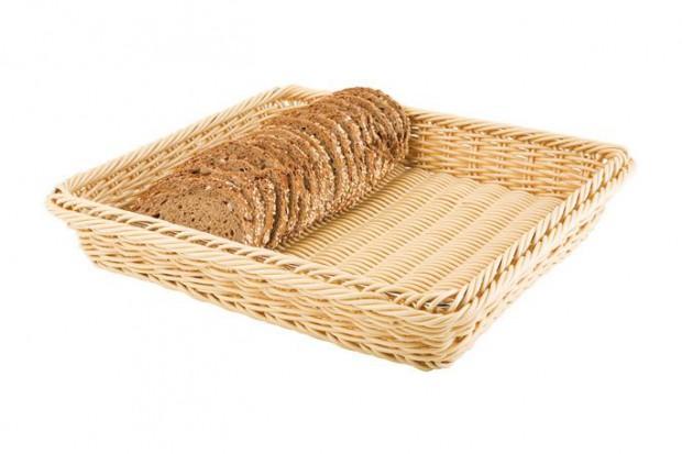 Панер за хляб поли ратан GN 1/2, 32.5х26.5 cm натурал 40222 APS