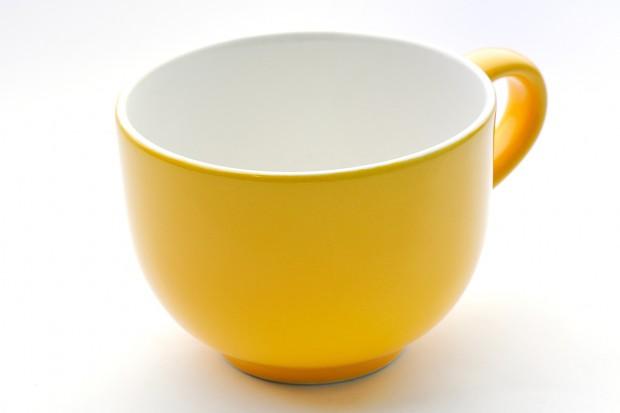 Чаша Джъмбо 400 ml, жълто/бяло 010/120 CESIRO