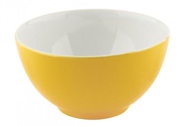 Купа 14 cm м.2904 G010/120 бяло/жълто1 CESIRO