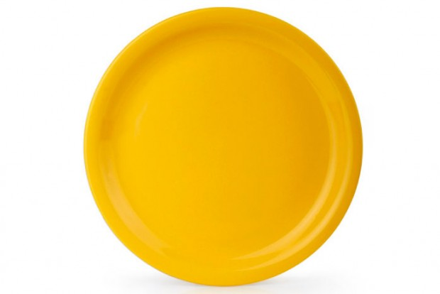 Чиния плитка 24 cm м.2783 G120 жълта 1 CESIRO
