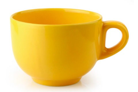Чаша Джъмбо 400 ml м.2739 G120 жълт CESIRO