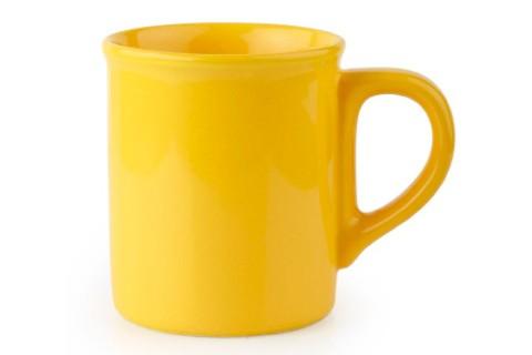 Чаша мляко 250 ml м.2476 G120 жълта CESIRO