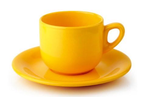 К-т чай 200 ml м.2846/2763 G120 жълт CESIRO
