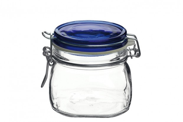 Буркан с капак с херметично затваряне 500 ml Fido Blue