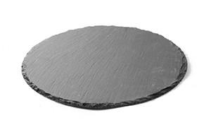 Плоча за сервиране от естествен камък ø 33 cm 998 APS