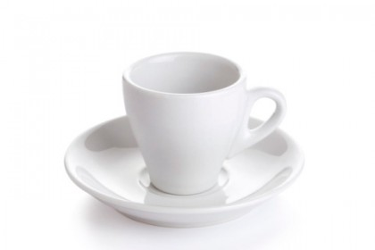 Чашка с чиния за кафе конус 80 ml 230 1 DAYI