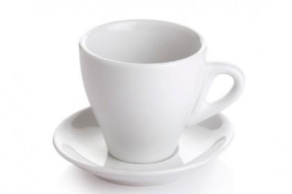 Чашка с чиния за нес кафе конус 200 ml 230 2 DAYI