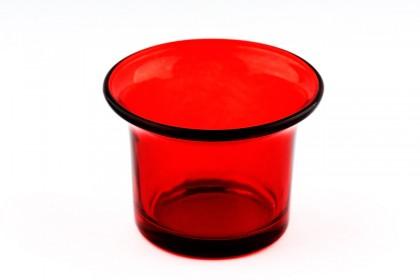 Свещник лале червен 3222