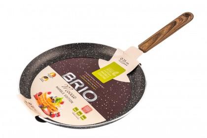 Тиган BRIO Mocca - Marble Edition за палачинки индукционен - 25см