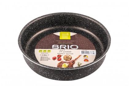 Тава BRIO Mocca - Marble Edition Тава с, кръгла - 28см, 2,2мм