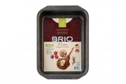 Тава BRIO Mocca - Marble Edition правоъгълна - 35.5/24.8/6.2см -2.0mm