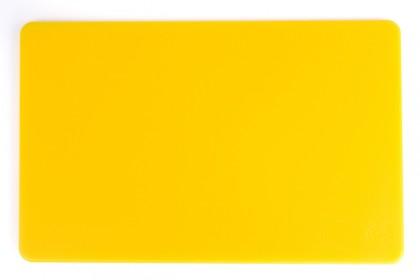 Дъска за рязане 25х40х1.2 cm жълта 1016 Y