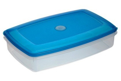 Кутия за фризер TOP BOX 2.7 l квадрат 300x200x72 mm 1081 PLAST TEAM