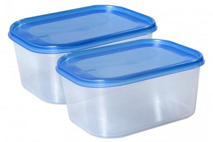 Комплект 2 бр кутия за фризер HELSINKI 1.4 l 1594 PLAST TEAM