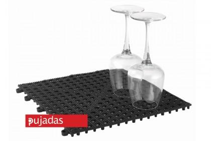 Бар мат отцедник за чаши 30x30x1,20 cm