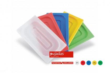Капак за Гастронорм Зелен Поликарбонат GN 1/4 1400P5 Pujadas
