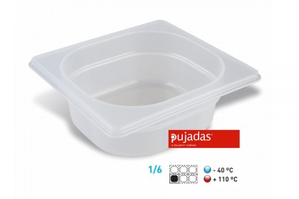 Гастронорм Полипропилен GN 1/6 100мм 1610P1 Pujadas