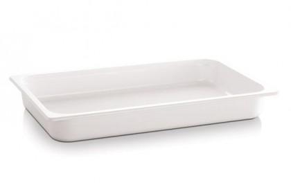 Гастронорм Меламин бяла 1/2 32.5х26.5х6.5 cm 3.40 l 83757 APS