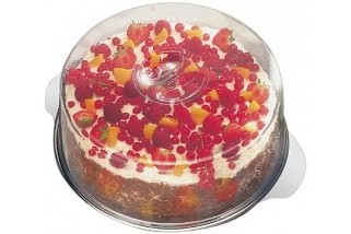 Поднос за торта с капак ф.30 cm 00065 APS