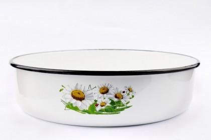 Тава кръгла бяла с декор, 32 cm, 442HF/32 1 1953